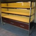 各种面包展示柜