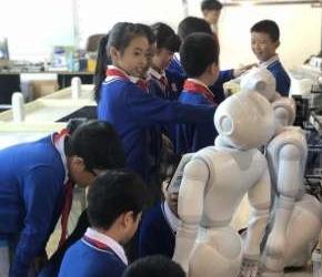 機器人同學來了!瑞安開啟AI教育模式
