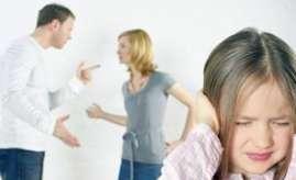 父母吵架被孩子听到如何处理