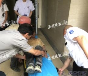 瑞安一房屋装修,墙体倒塌一工人被压