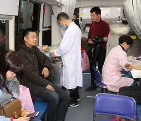 春节期间还有这么多志愿者无偿去献血