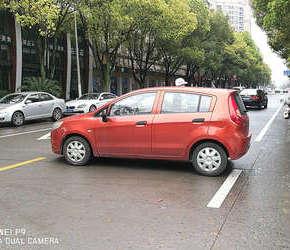 安阳路上的奇葩停车姿势