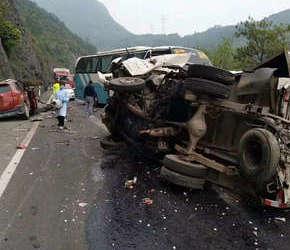 温州发生严重车祸,一人当场死亡
