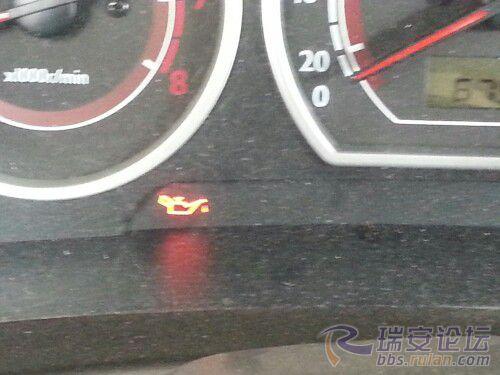 机油故障灯亮了