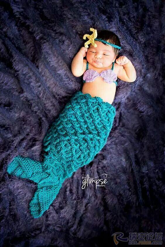 原来这世上真的有美人鱼