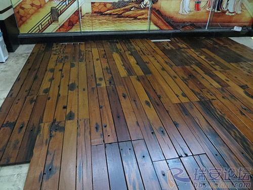 船木茶桌 船木地板 船木背景墙 微信18350788880