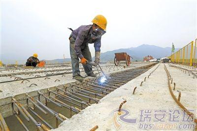 金沙娱乐网址:最新建设进度来了!瑞安这条高速公路预计明年完成!