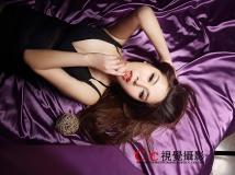 瑞安CC视觉 紫色魅惑 写真