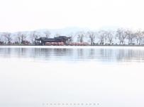 水墨西湖。