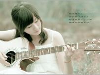 吉他我的小世界--雅婷人如其名