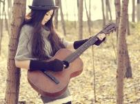 秋季吉他女孩 出镜:楠楠