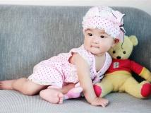 宝宝6个月写真