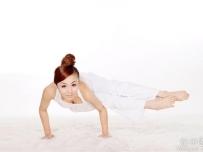 朋友的瑜珈写真