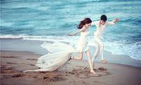 浪漫婚纱照图片欣赏