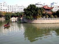 瑞安塘河水影