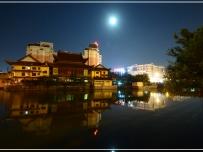 安阳寺夜之影