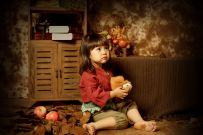 一组可爱的儿童照片