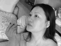 网络新红人容榕阿姨,叫板芙蓉姐姐的极度暴露写真照片