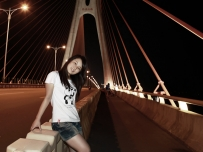 7月20日三桥试拍夜景人像