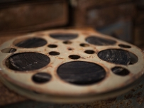 西山电影院的电影胶卷
